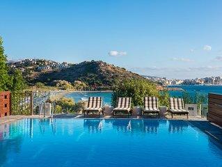 Agios Nikolaos Beach Villa / Direct Access to the Sandy Beach of Almyros!