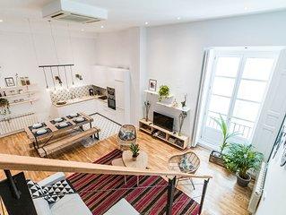 Las Letras IV - Apartamento para 11 personas en Madrid