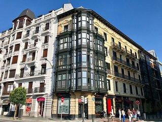Piso muy céntrico en Bilbao a escasos metros de Gran Vía,Teatro Campos,E-BI-752.