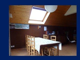 Appartement familial 7 personnes, 68 m2, SPACIEUX & CALME - Vue superbe !
