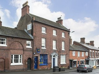 Comfortable apartment for families and visitors to Tutbury and local area