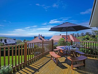 4* Charming Portpatrick Holiday House with Beautiful Sea Views. Dog Friendly