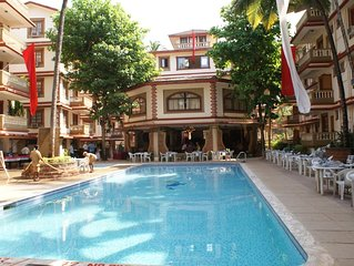 Stunning 2 Double Bed Apartment , Candolim, Goa. Highland Beach Resort.