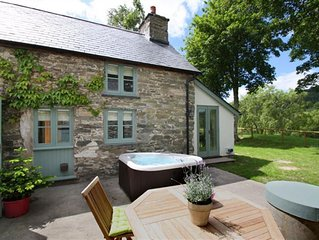Ghillies Cottage is the smallest property in a group of 5, located on the edge o