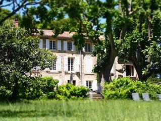 Un lieu exceptionnel au ceour de la Provence des Papes