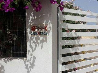 Casa Resca- 80 -mt dal mare -Playa Carratois