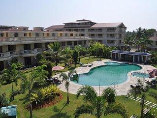 Luxury Villa with Large Swimming Pool, close to beach. Taj Exotica nearby.