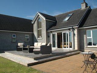 Beautiful House with superb Coastal Sea Views, on the Causeway Coastal Route, NI