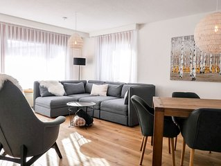 Cosy apartment for 4 people with WIFI, TV, balcony and parking