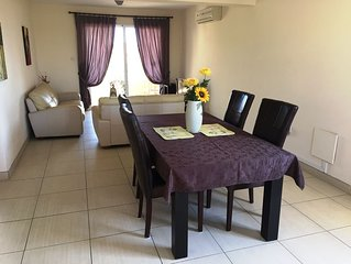 Nissi 3 D12 Luxury 2 bedroom apartment only a short walk from Nissi Beach.....