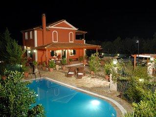 Luxury Villa Tsilivi with Private Pool
