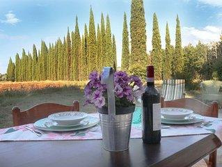 B&B in Villa a Montespertoli con giardino e parcheggio