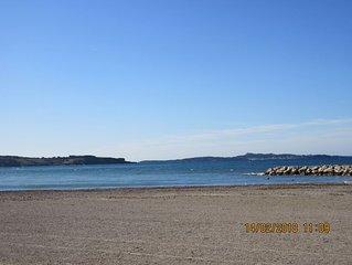 Appart.T2 Six-Fours/Sanary idéalement situé, plage et commerces à pied