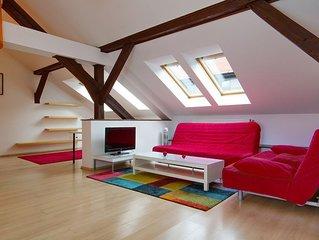 Modern appart au centre de ville 140 m2, 3 ch