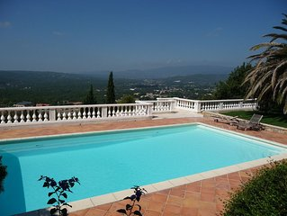 Spacious 5 Bed Villa With Large Heated, Private Pool, Hot Tub and Home Cinema,
