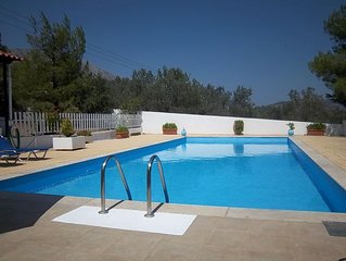 Large Private Villa With Pool On The Outskirts Of Ancient Epidavros