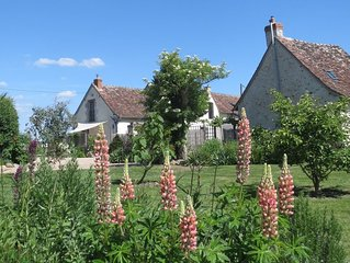 Loire Valley countryside home from home 3km from village chateau & amenities