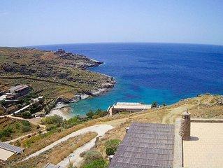 Appartement de luxe, emplacement paisible bord-de-la-mer, vues mer, plage isolée