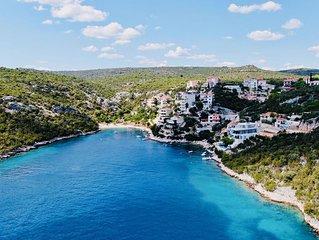 High-end luxury mansion in Croatia.