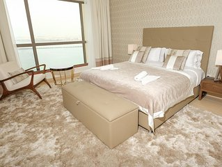 Incredible Sea View holiday rental 2BR on JBR