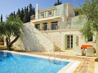 Prestige Villas  |  KASSIOPI VILLAGE |  Luxury 4 Bedrooms with Pool