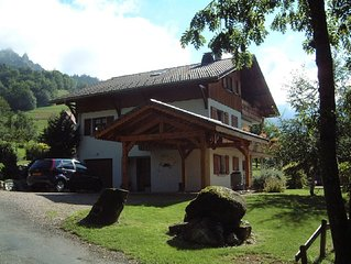 Beautiful South facing chalet - BERNEX, Nr. EVIAN, FRENCH ALPS