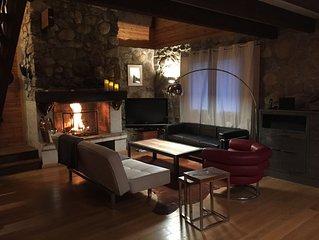 LES ANGLES: Grand Chalet Confortable 8/10 personnes (linge et WIFI inclus)