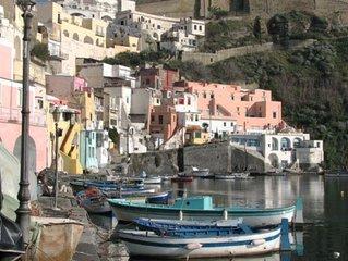 Casa sul mare Corricella