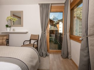 Chez Nous Zermatt - 4 luxury apartments in same building with Matterhorn views