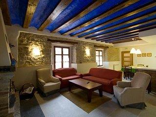 Casa Rural Villazon,,(8+2),calidad a 12 min Pamplona.C,Santiago