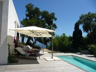 Ultra-stylish villa, stunning views, fabulous 12m pool, SPECIAL SUMMER OFFER!!