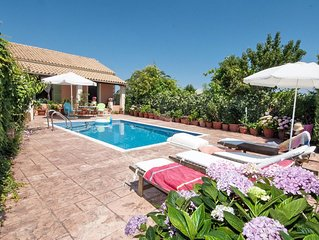 Villa with Private Pool and Sea Views