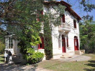 Belle villa de caractère - 150 m plage du Platin