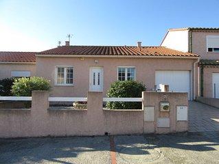 Maison climatisée avec jardin