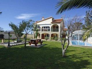 Villa avec magnifique vue sur les Albères et sur le Mont Canigou