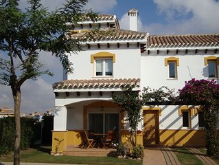 High Standard 2 Bedroom Villa with 6x3m Swimming Pool and Great Golf Views