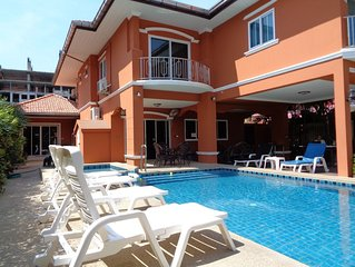 5 Bedroom Villa With Private Pool/ Walking Street 10 Minutes Ride  Away!