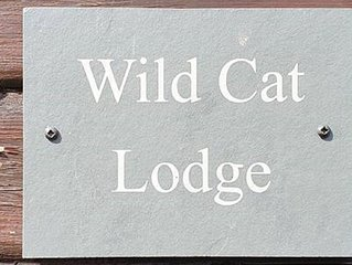 Wild Cat Lodge, a fantastic timber holiday lodge in an idyllic location