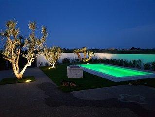 VIlla Brancasi con piscina