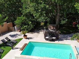 Magnifique Villa avec piscine - La Provence au calme -30min des plages
