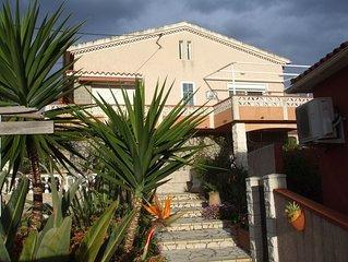 Appartement  au ****. ch. d' une villa proche de la Mer (1KM)