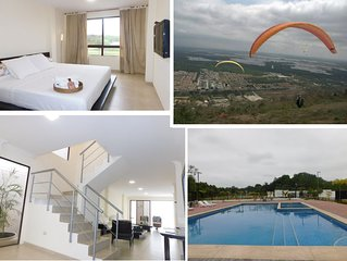 Guayaquil large commercial-tourist sector house, 40 minutes from beaches.