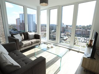 Birmingham Park Central Penthouse (City View)
