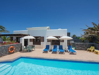 Faro Park luxury villa & pool, spacious corner plot surrounded by our gardens