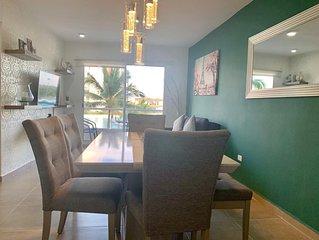 Lujoso departamento con Laguna y 8 piscinas Dreams Lagoon Cancun