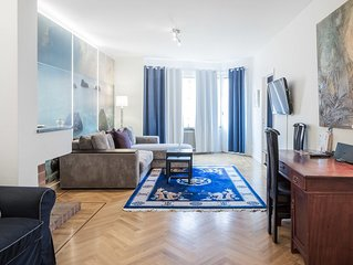 One bedroom apartment deluxe with balcony   B
