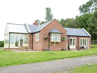 Secluded luxury family holiday cottage in County Durham countryside.