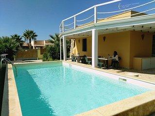 Villa Etè con piscina 10 pax a Gallipoli