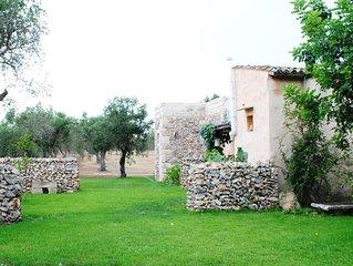 country house close to alimini beach, salento, otranto