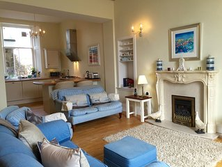 Elie & Earlsferry pet friendly garden flat with parking, close to beach and golf